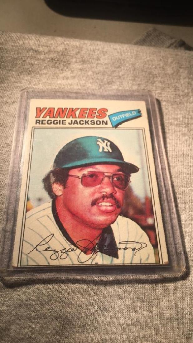 Reggie Jackson 1977 Topps