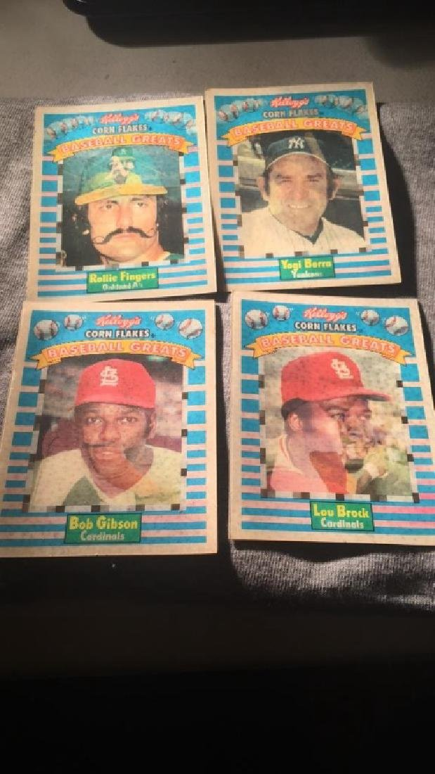 Kellogg's corn flakes baseball greats lot Berra