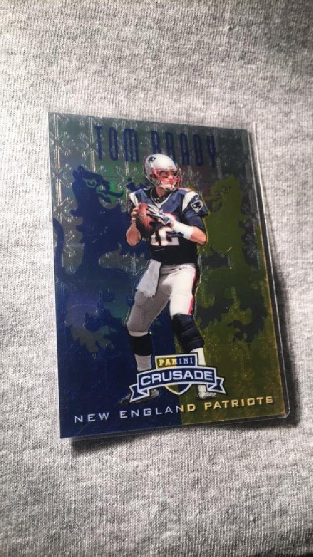 Tom Brady 2013 panini crusade