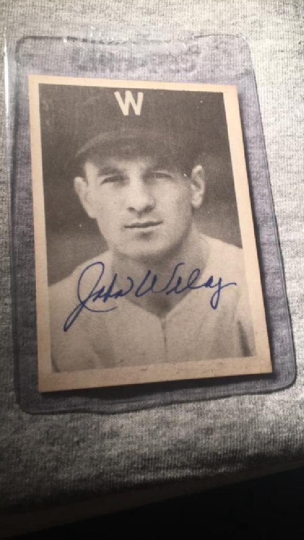 John Ludwig welaj The war Years autograph