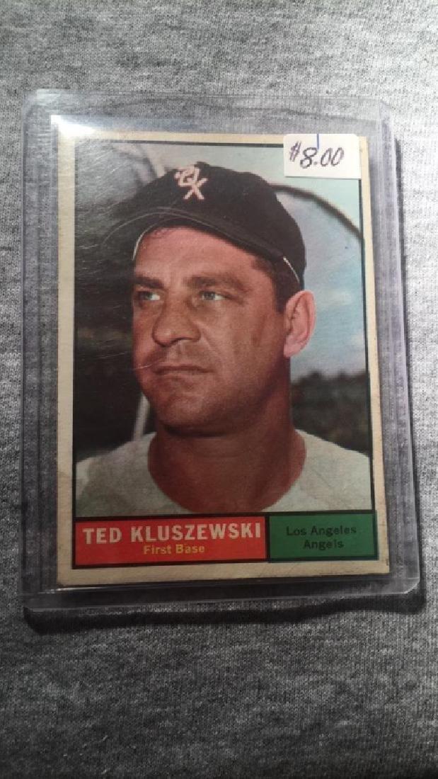 Ted Kluszewski 1961 Topps