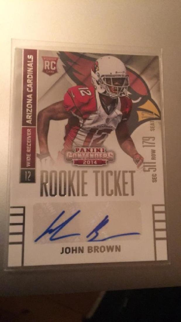 John Brown contenders auto RC