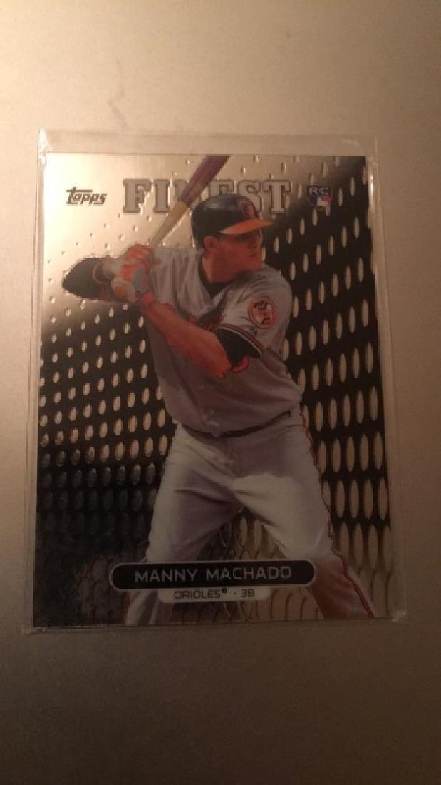 Manny Machado finest RC