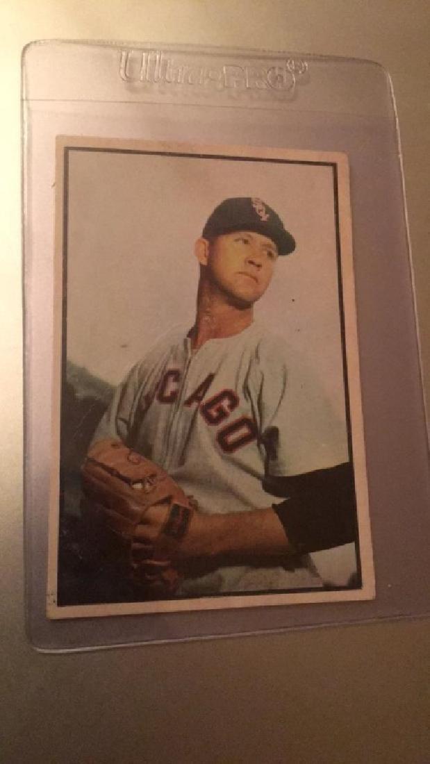 Joe Dobson 1953 Bowman Color
