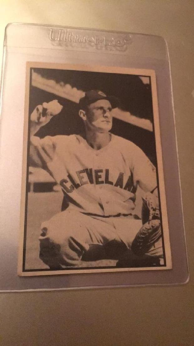 Joe Tipton 1953 Bowman black and white