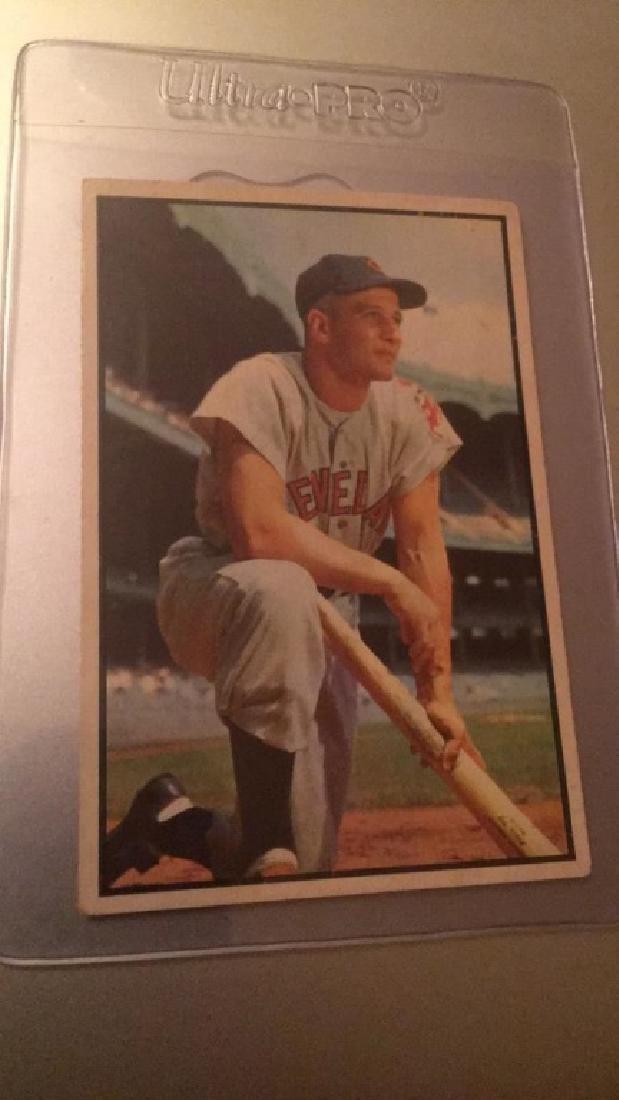Al Rosen 1953 Bowman color