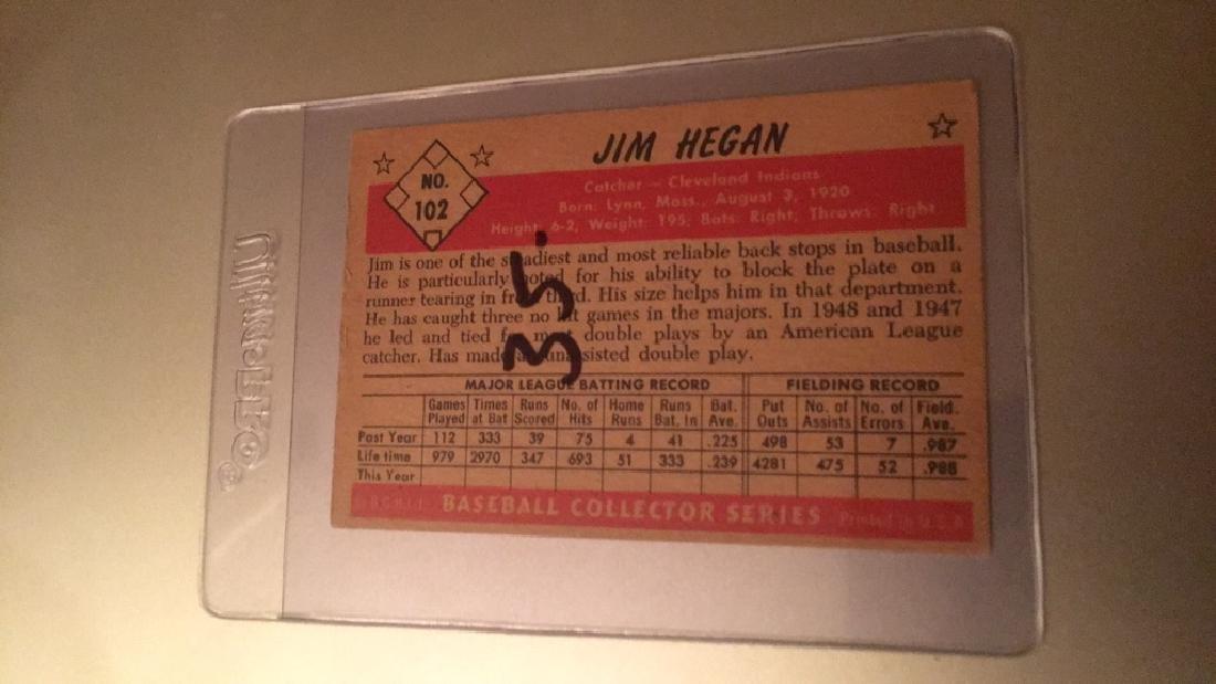 Jim Hegan 1953 Bowman Color - 2