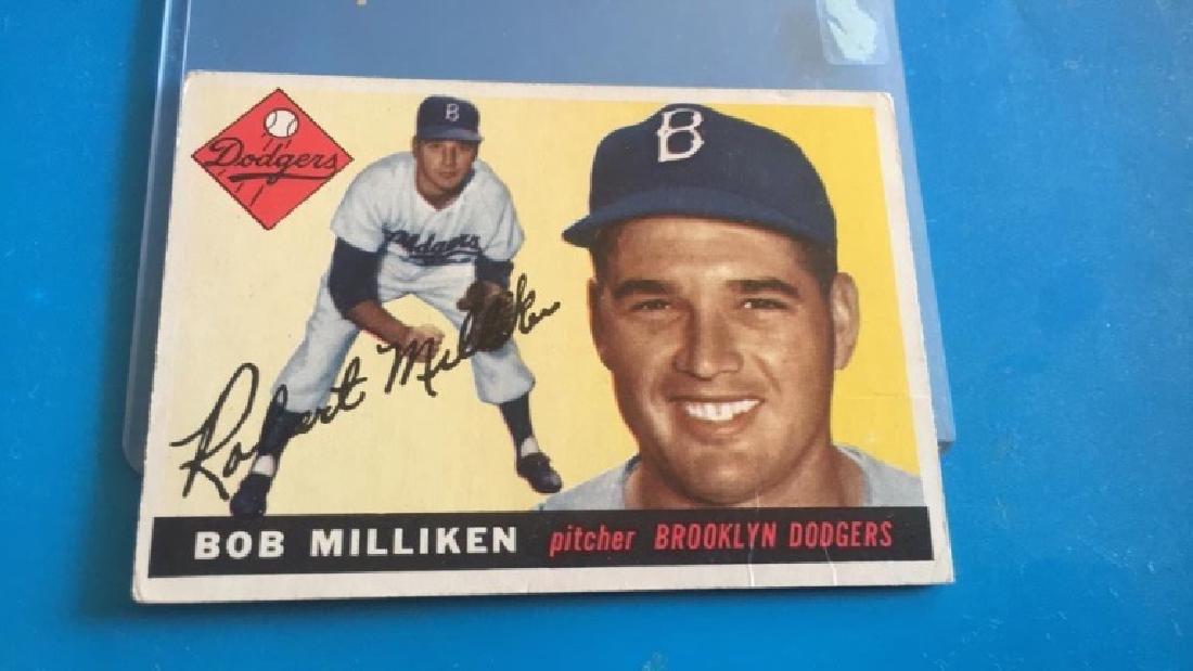 Bob Milliken 1955 Topps