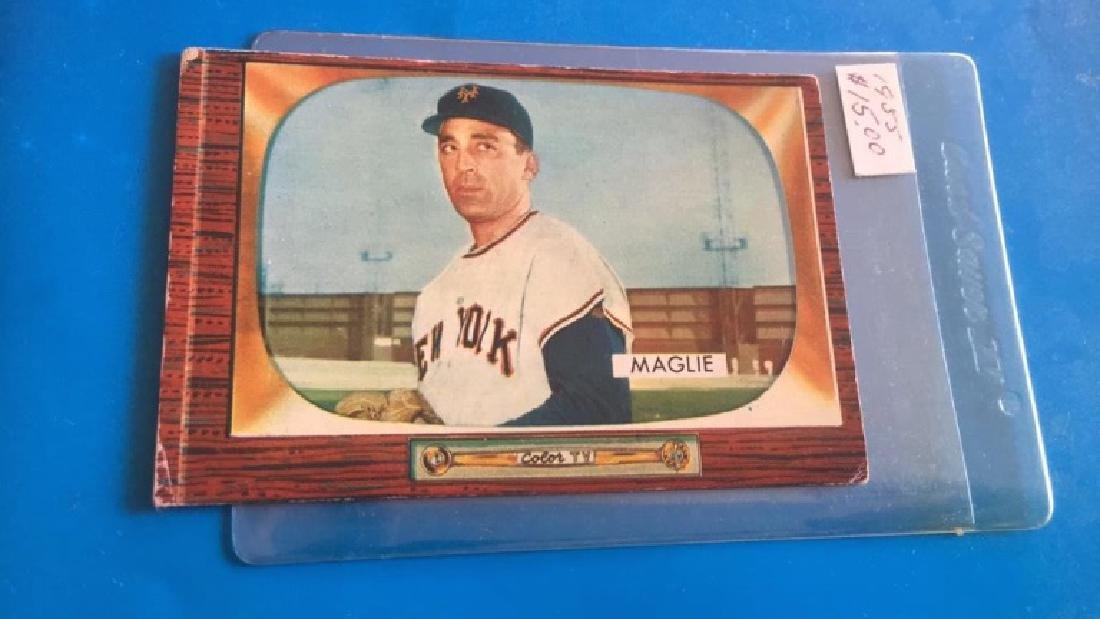 Sal Maglie 1955 Bowman