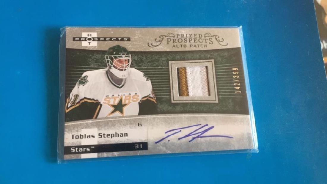 Tobias Stephan hot prospects 3 color patch auto