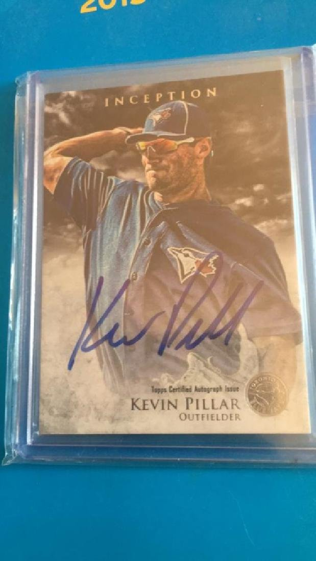 Kevin Pillar 2013 inception auto RC