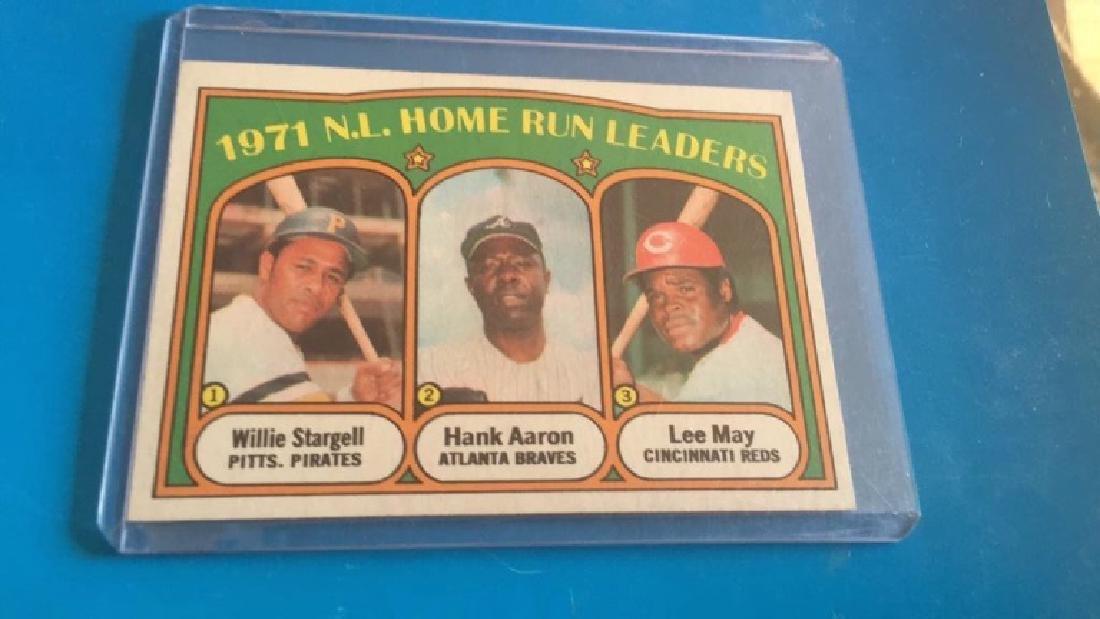 Hank Aaron Willie Stargell 1971 NL home run