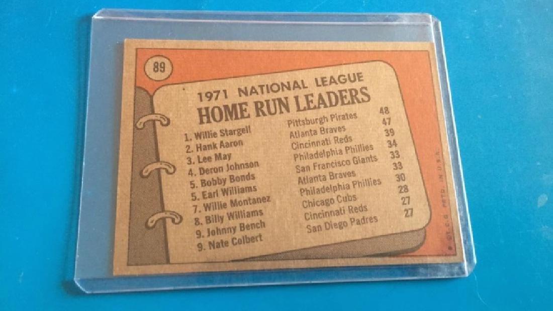 Hank Aaron Willie Stargell 1971 NL home run - 2