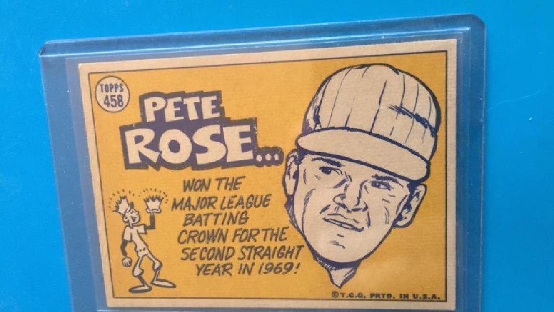 Pete Rose 1970 Topps the sporting news - 2