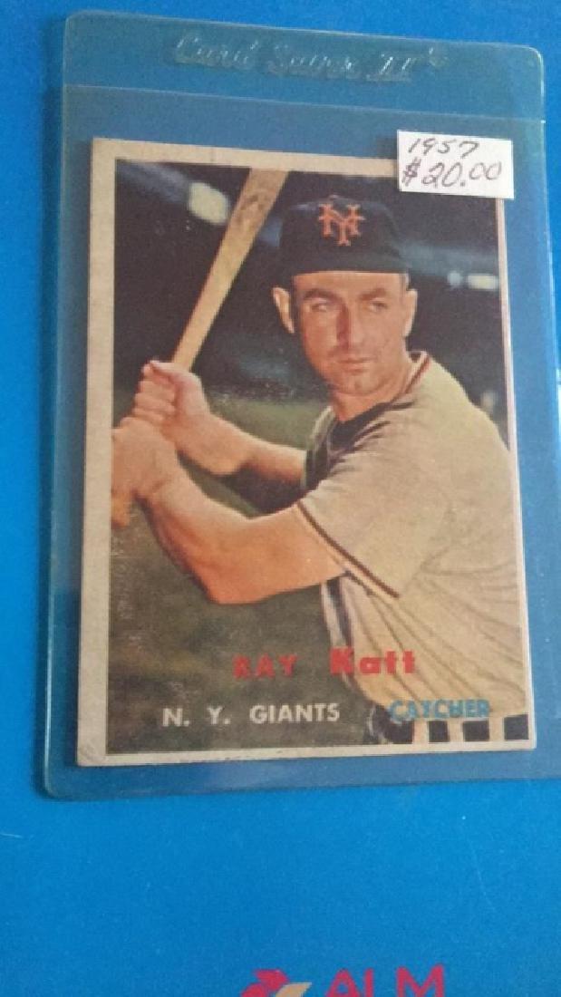 1957 Topps Ray Kraft