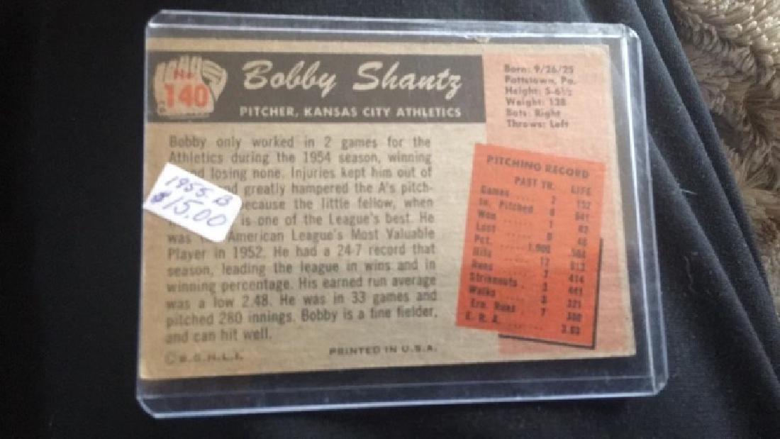 Bob Shantz 1955 Bowman - 2