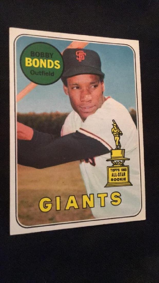 Bobby Bonds 1969 Topps RC High # SP