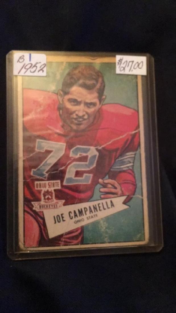 Joe Campanella 1952 Topps vintage football card