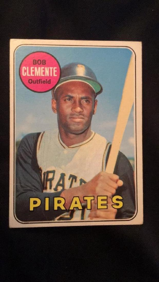1969 Topps  Bob Clemente vintage nice card