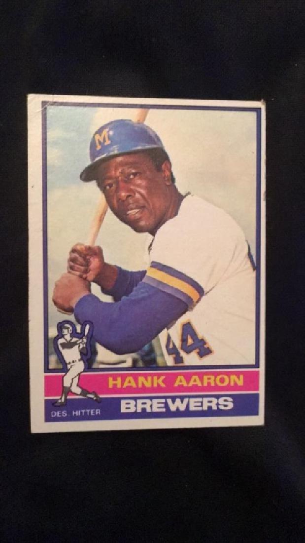 1976 Topps Hank Aaron