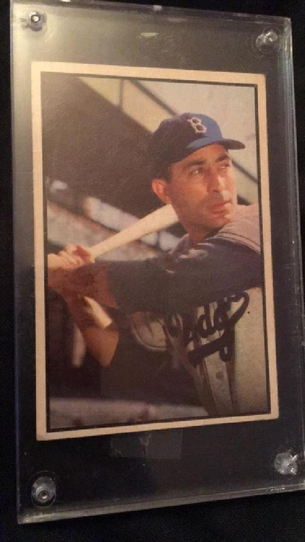 Carl Furillo 1953 Bowman Color Nice shape - 2