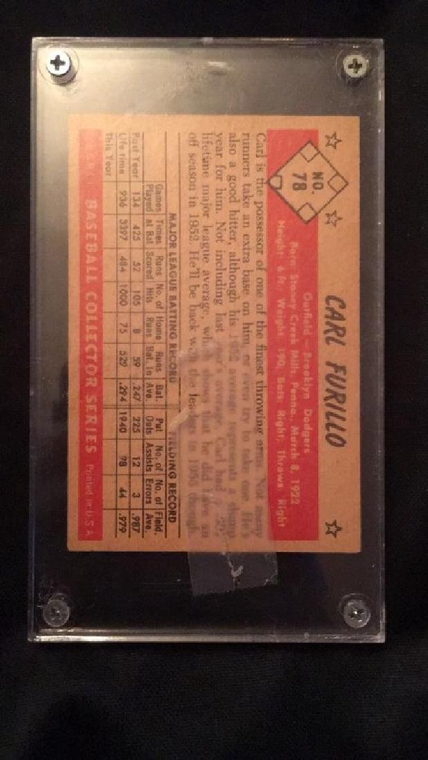 Carl Furillo 1953 Bowman Color Nice shape - 3