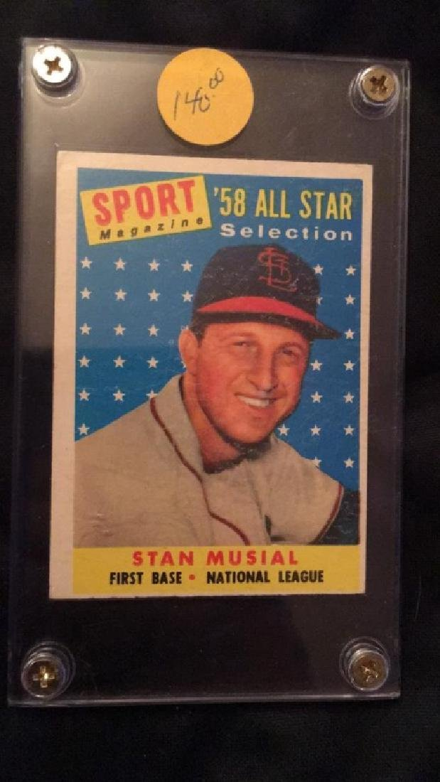 1958 Sport Magazine All Star Stan Musial