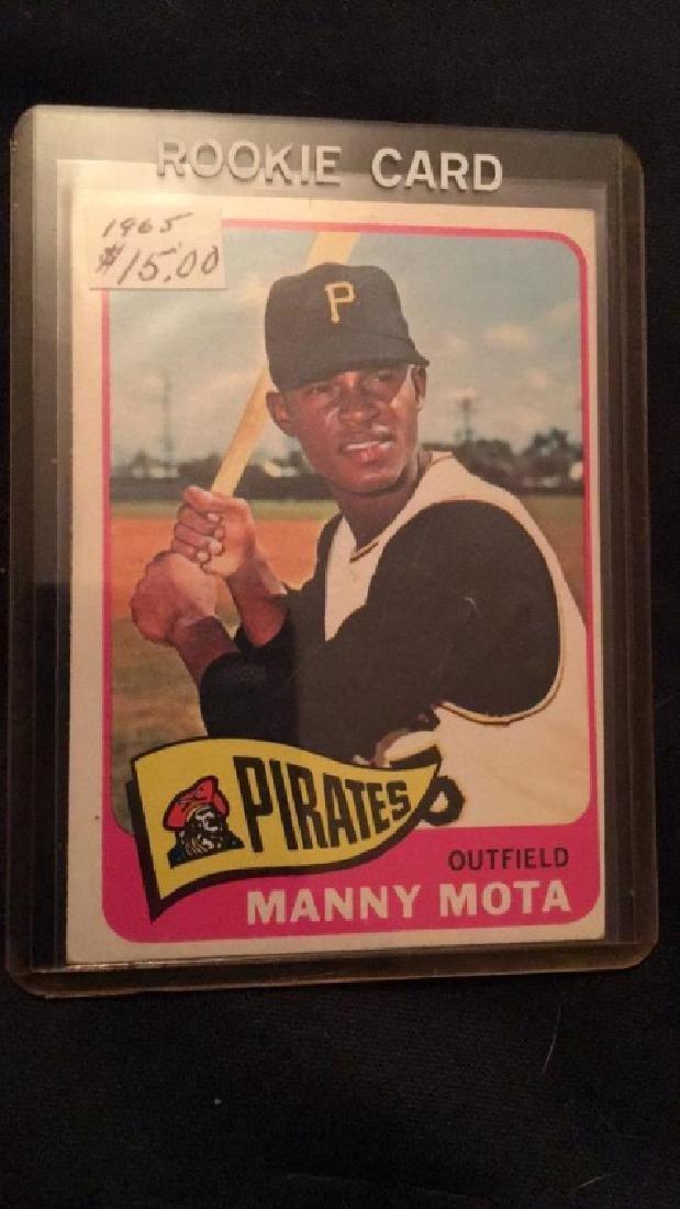 Manny Mota 1965 Topps RC nice shape