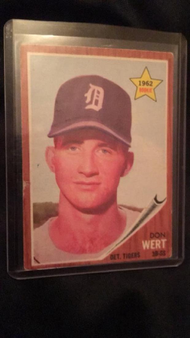 1962 Topps Don Wert RC