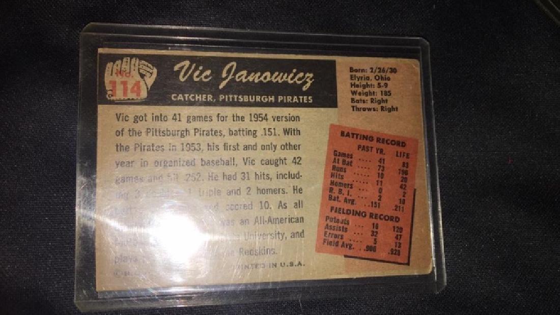 Vic Janowicz 1955 Bowman - 3