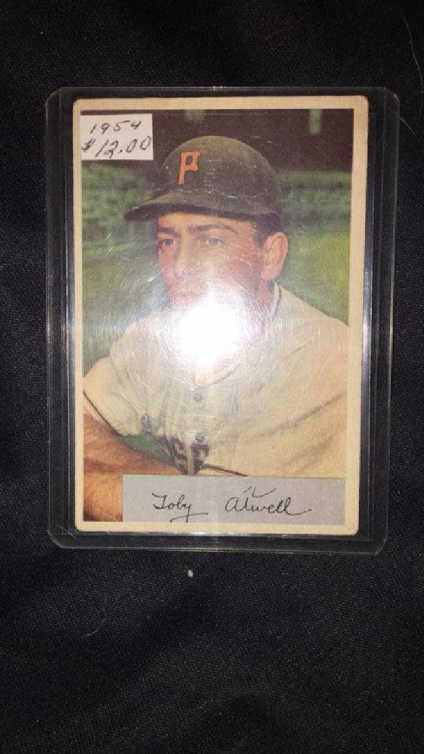 1954 Bowman Toby Atwell