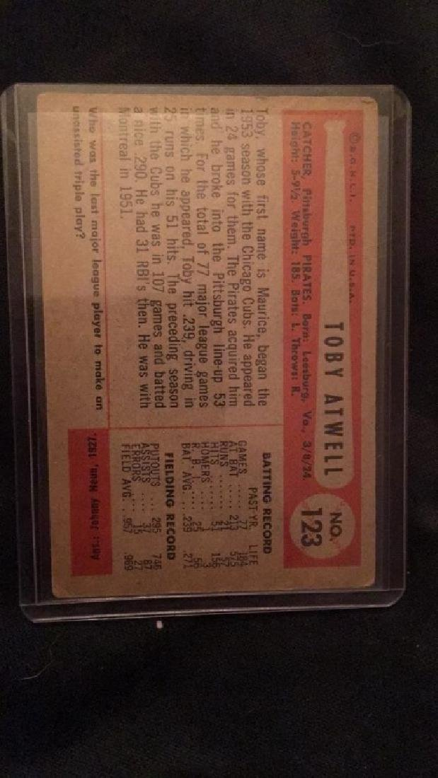 1954 Bowman Toby Atwell - 3