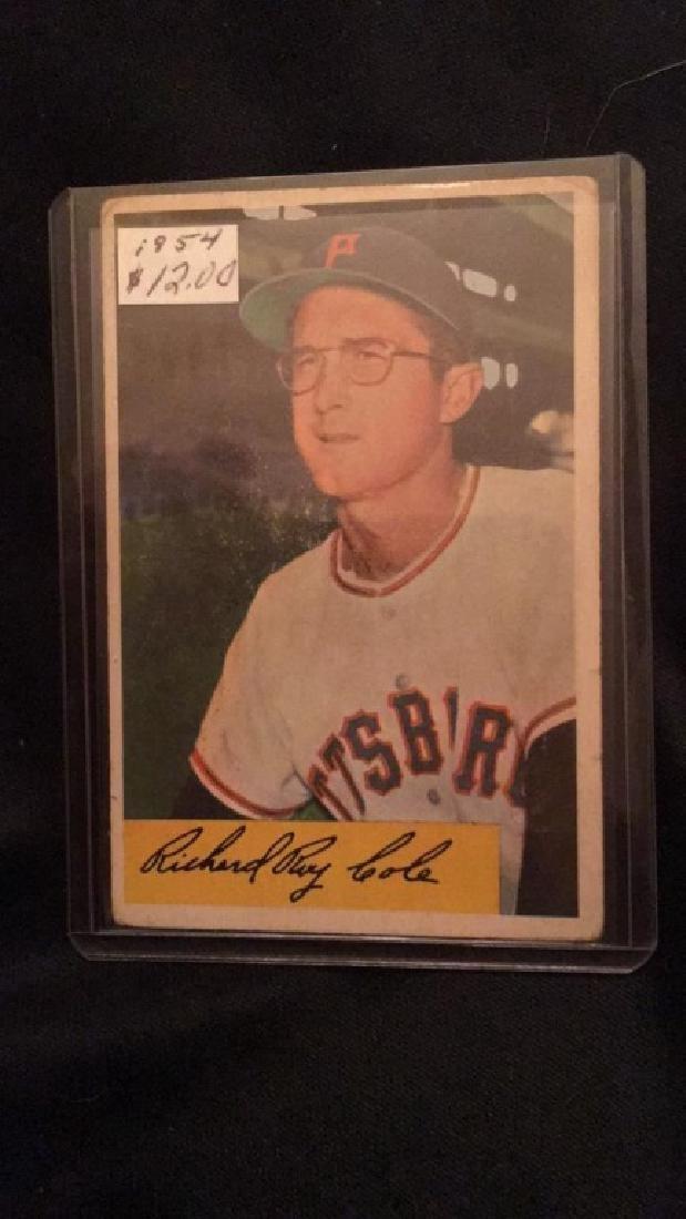 Dick Cole 1954 Bowman
