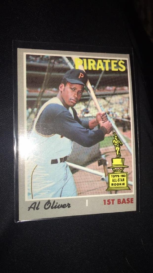 Al Oliver 1970 Topps All star RC