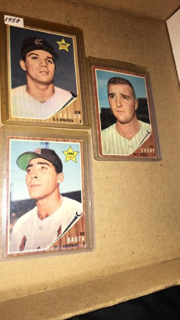 Lot of 9 vintage 1962 Topps - 4