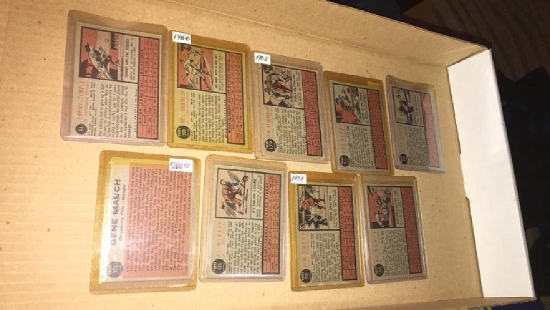 Lot of 9 vintage 1962 Topps - 6