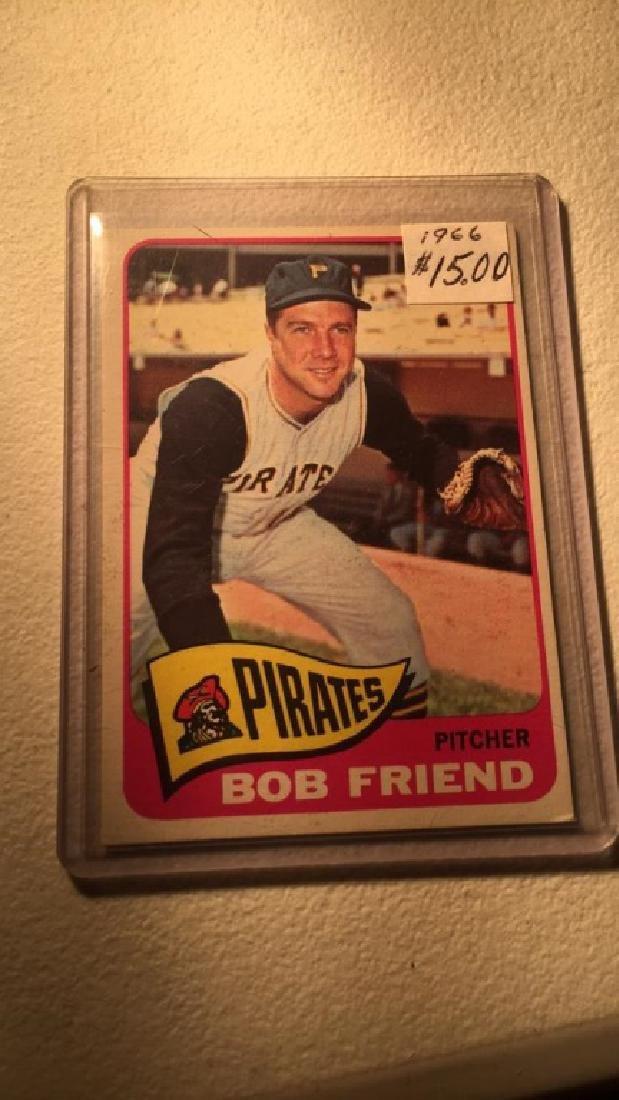 Bob Friend 1965 Topps