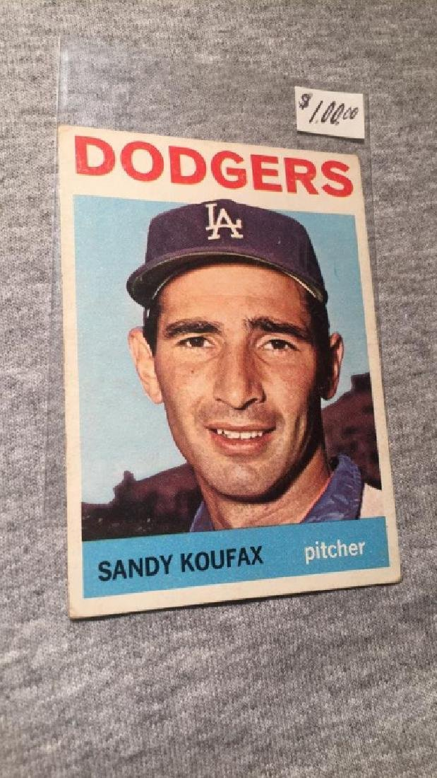 Sandy Koufax 1964 Topps Vintage Card