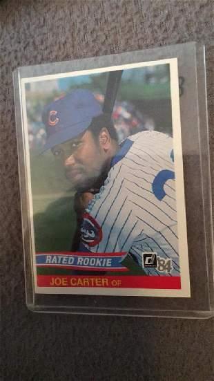 Joe Carter 1984 Dontuss RC