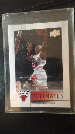 Michael Jordan 200809 upper deck ultimates