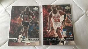 Michael Jordan air of greatness lot