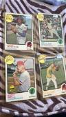 1973 Topps Vintage baseball card lot with Hall of