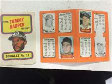 YANKEES 1969 Topps Stamp Album(Complete w/MICKEY
