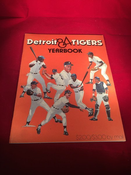 1984 Detroit Tigers yearbook