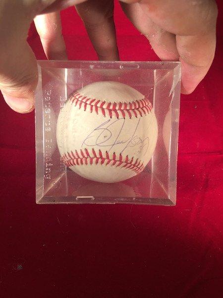 Bo Jackson Hand Signed Autographed Baseball Official
