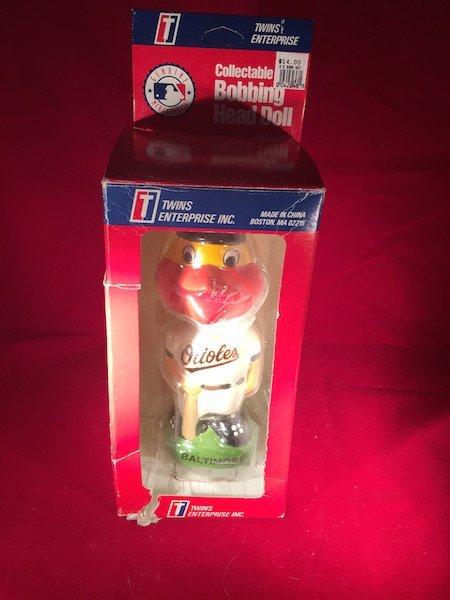 Baltimore Orioles Mascot Bobblehead MLB 1999 The Oriole