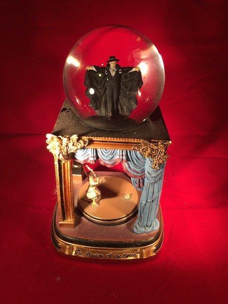 The Phantom of the Opera Snow globe the San Francisco