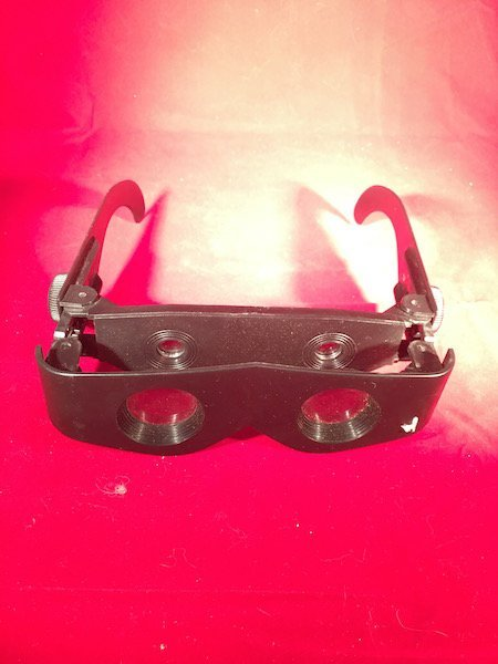 Vintage near site goggles