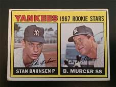 Bobby Murcer/Stan Bahnsen 1967 Topps Rookie Card #93