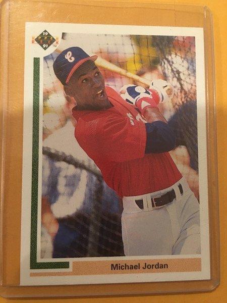 Michael Jordan 1991 Upper Deck SP Baseball #sp1